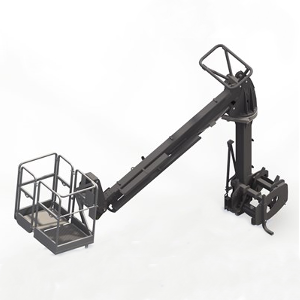 Telescopic pivoting man platform over-under with 340° rotation (TP O-U)